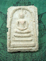 Phra Somdej Toh Wat Rakang 2 Side Buddhist Talisman Old Thai Buddha Amulet