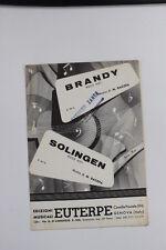 SC16 SPARTITO Brandy (E 924) - Solingen  (E 925) Rock hot