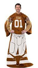 Texas Longhorns blanket with sleeves snuggie FREE SHIPPING Hook em horns Bevo
