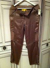 Catherine malandrino pantalon Poches soie luxe NEUF 275  €