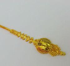 Indian Bridal Sari Suit Jewelry Golden_Antique_style Maang Tikka head Decor 1pc