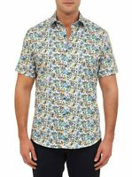 ROBERT GRAHAM MEN'S EWA VILLAGES S/S FLORAL PRINT SPORT SHIRT BIG FIT $255 NWT
