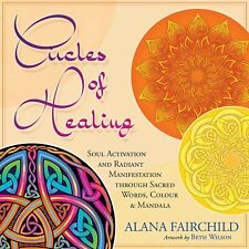CIRCLES OF HEALING ROUND CARDS GAME ORACLE  INSPIRATION Cat Resq Cat Resq