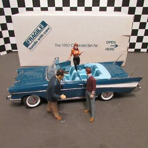 Danbury Mint,1957 Chevrolet Bel Air Convert.Top Down,1/25 scale  model car, used