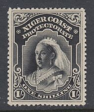 OIL RIVERS NIGER COAST PROTECTORATE 48  NO FAULTS MINT HINGED OG EXTRA FINE