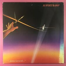 SUPERTRAMP - Célèbre RECENTE Words - A&M amlk-63732 ex-condition A1/B1