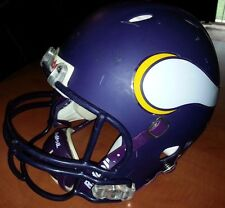 Minnesota Vikings Matte Purple NFL Riddell Revolution Mens Football Helmet M