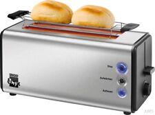 UNOLD 38955 Turbo Toaster Edelstahl//Schwarz 2100 Watt, Schlitze: 2