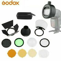 Godox S-R1 Flash Speedlight Adapter + AK-R1 Kit for Godox Yongnuo Canon Nikon