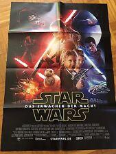 """Orig. Star Wars KINOPLAKAT / Poster /  """"Episode 7 - Das Erwachen der Macht"""