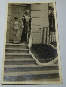 1953 REAL PHOTOGRAPH MARY DUCHESS OF DEVONSHIRE & MARQUIS HARTINGTON    674