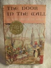 THE DOOR IN THE WALL - Marguerite De Angeli - 1st Printing 1952 Rare Book