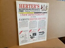 Herter's Waterfowling Specialists Catalog Hunting Decoys Accessories