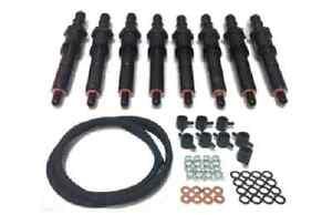 83-88 6.9L 7.3L IDI Ford Diesel Reman Injector Set & Return Line Kit (3004)