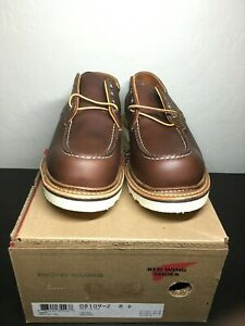 Red Wing Heritage #8109 8D Work Classic Oxford Mahogany Oro-iginal 2nds NIB 8103