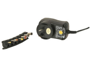 Power Adapter Charger AC 240V to DC 9V 12V 13.5V 15V 18V 20V 24V 1.5A 7 Plug Tip