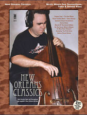 New Orleans Classics for Double Bass Solo Jazz Sheet Music Minus One Book CD NEW