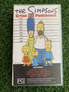 The Simpsons Lot 3 VHS Tapes VGC Pre Owned *J2 (#5)