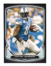 2014 BOWMAN LIONS CALVIN JOHNSON  BLACK PARALLEL #6
