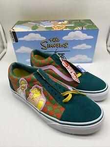 The Simpsons, Vans, Old Skool, Moes Tavern, Moe's, Mens size 7,Womens 8.5 shoes