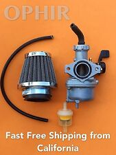 Carburetor & Air Filter For Honda CRF70F XR70R Carb (Mounting hole spacing 48mm)