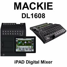 Mackie DL1608 Digital Live Sound 16Ch Audio Mixer Lightning Plug & iOS Control