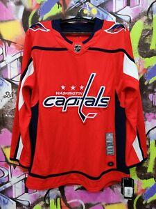 Washington Capitals NHL Ice Hockey Jersey Sewn Stithed Adidas 2017 Mens size 50