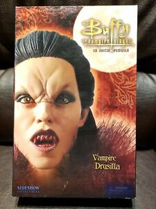 2005 Sideshow Collectibles Buffy The Vampire Slayer Vampire Drusilla Figure 12in