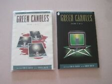 Green Candles Volume 1, 2, Paperback Book Lot Of 2 (P)