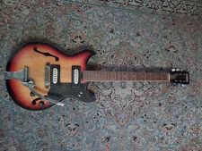 chitarra TAMAKI JAPAN SEMI-HOLLOW vero vintage anni '60