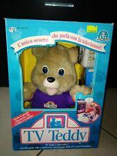 Teddy Ruxpin TV Teddy Giochi Preziosi Anni 80/90 Nuovo