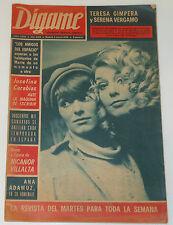 DIGAME #1470 1968 Teresa Gimpera Serena Vergano Toros Bullfighters revista spain