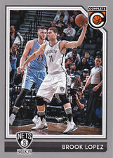 BROOK LOPEZ BROOKLYN NETS 2016-17 PANINI COMPLETE SILVER PARALEL CARD #216