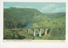 View From Headstones Monsal Dale 1977 Postcard 574a