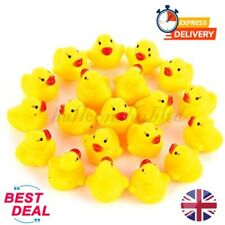 Shower Rubber Baby Duck Bath Toy Toys Mini Yellow Ducky Ducks Kids Cute Squeaky