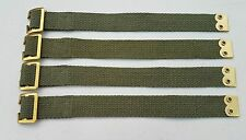 Land Rover Pioneer tool straps x4 Military Army  canvas 308792