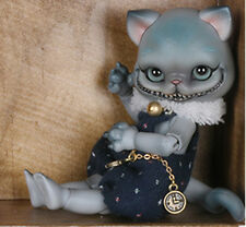 1/12 bjd doll sd doll ball jointed dolls smiling cat  bare doll without make up
