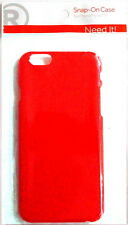 New RadioShack Red Plastic Snap-On Case for iPhone 6