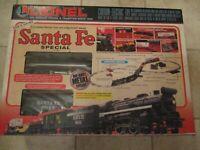 Lionel Santa Fe Special Electric Train Set 0/027 Gauge 6-11900 Vintage 1998