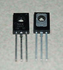 1pc 2SD882 D882 New AudioTransistor NEC Power Transistor TO-126 2A Triode
