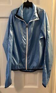 Womens Small Pearl Izumii Blue Lightweight Biking Jacket, Excellent Condition