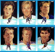 """1991-92 SCORE NHL """"DREAM TEAM"""" 6 CARD SET"""