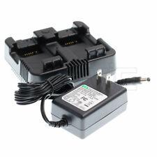 Dual Battery Charger Trimble M3 Tsc2 Nomad Nikon Nivo 2m 2c Dpl322 Total Station