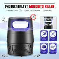 Electric Mosquito Insect Killer Fly Bug Zapper LED Light Trap Lamp Pest Control