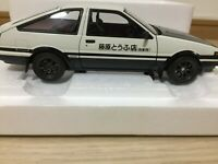 Autoart 1/18 Toyota Sprinter Trueno AE86 Initial D Project D Final Version