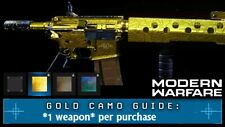 Call Of Duty Modern Warfare Gold Camo [PC]