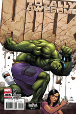 Totally Awesome Hulk #23 Frank Cho Homage Cover Marvel Comics Sold Out!