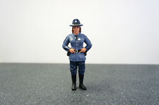 STATE TROOPER SHARON FIGURE FOR 1:18 SCALE DIECAST MODEL AMERICAN DIORAMA 16109