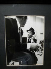 Frank Sinatra Photo  by William Woodfield Signed