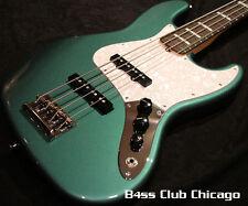 Fender Adam Clayton Jazz Sherwood Green Metallic NEW & FREE SHIPPING!